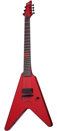 Schecter Chris Howorth Signature ITM V-7 Electric Guitar - Gloss Red