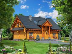 Jutrzenka II z wiatrołapem Home Fashion, Cabin, House Styles, Home Decor, Interiors, Ideas, Decoration Home, Room Decor, Cabins