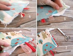 DIY tutorial juego bebe * Baby Sewing For Kids, Diy For Kids, Montessori, Christmas Stockings, Coin Purse, Childhood, Stitch, Holiday Decor, Children