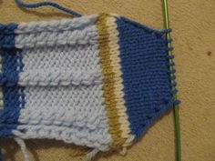 Návod na ponožky ,štrikované na dvoch ihliciach. / pletana » SAShE.sk - slovenský handmade dizajn Crochet Bikini, Slippers, Knitting, Accessories, Baby, Fashion, Tips, Moda, Tricot