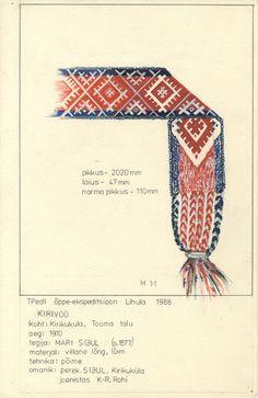 Eesti muuseumide veebivärav - Kirivöö