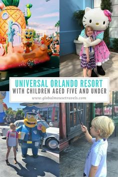 Does Universal Orlando Resort work for under 5 year olds? Read our review of the Florida parks for younger children here.