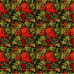 How to Create a Seamless Pattern in Khokhloma Painting Style Using Adobe Illustrator