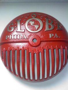 Old Fire Sprinkler Water Motor Gong Cover