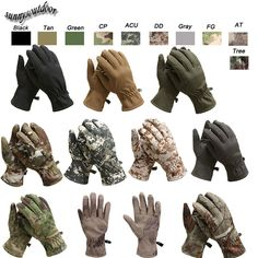 Softshell Gloves, Camo Gloves, Camouflage Gloves,Tactical Gloves,Military Gloves, Airsoft Gloves, Shooting Gloves, Hunting Gloves,Motocycle Gloves, Cycling Gloves-Product Center-Sunnysoutdoor Co., LTD-