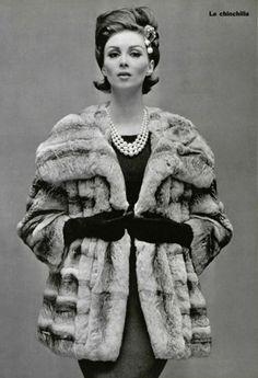 Ciao Bellissima - Vintage Glam; Wilhelmina Cooper, 1962