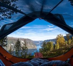 A panoramic view of Aurland from the 🚀Captains bridge! Stay Wild, Hammock, Outdoor Gear, Tent, Bridge, Outdoor Furniture, Instagram, Home Decor, Store