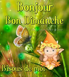 Dimanche Bon Weekend, Bon Week End Image, Tinkerbell, Good Morning, Messages, Christmas Ornaments, Disney Characters, Day, Minions