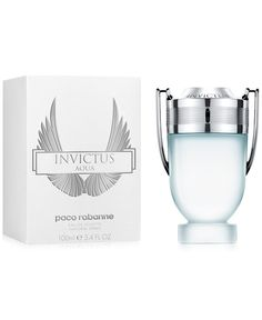 Paco Rabanne Invictus Aqua Eau de Toilette, oz, Only at Macy's - Shop All Brands - Beauty - Macy's Invictus Paco Rabanne, Best Mens Cologne, Perfume And Cologne, Mens Perfume, Men's Cologne, All Brands, Aqua, Product Launch, Stuff To Buy