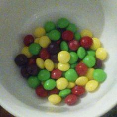 Hand-Picked Skittles @ my living room