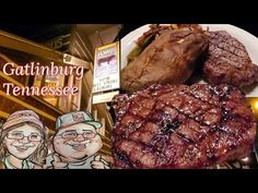Howard's Steakhouse Review and Gatlinburg Dusting of Snow - YouTube Gatlinburg Tennessee, Youtubers, Snow, Youtube, Human Eye