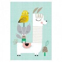 Lama and Friends A3 print * Suzy Ultman