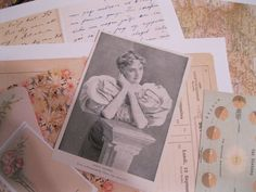step by step in making a Vintage Gluebook, great for working out ideas and playing with materials. Perfect collage artist sketchbook. Artist Mary Green for Gingersnap blog