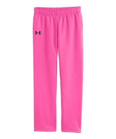Love this Under Armour® Chaos Updated Armour® Fleece Pants - Girls by Under  Armour 6f2ead747a5b