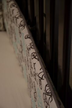 How to make Crib Bumpers (Tutorial) (by Merrick's Art)
