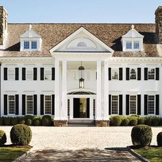 Tommy Mottola's Georgian-Inspired Estate in Greenwich, Connecticut : Architectural Digest