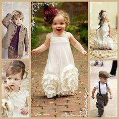Crianças adoráveis