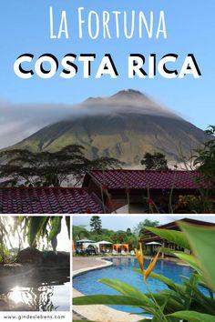 Costa Rica Reise Tipps und Highlights. Sehenswertes und Hotel mit Thermalquelle. La Fortuna und der Vulkan Arenal. Tipps für eine Costa Rica Rundreise auf eigene Faust. Mehr zu Costa Rica und unserem Roadtrip auf www.gindeslebens.com #lafortuna #costarica #costa #rica #reise #highlights #tipps #roadtrip #route