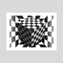 Art Prints by Gvardian Gyula - INPRNT Op Art, Illusions, Art Prints, Abstract, Gallery, Artist, Artwork, Painting, Printed