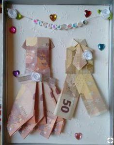 Money Gift Wedding Crafts Elegant 46 Best Money Gifts Crafts Images On Pi . Diy Wedding Presents, Wedding Present Ideas, Wedding Crafts, Wedding Favors, Wedding Ideas, Gift Wedding, Craft Gifts, Diy Gifts, Don D'argent