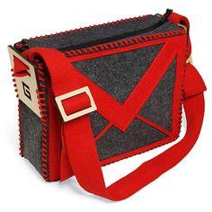 Gmail Styled Shoulder Bag