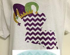 Louisiana Jester Mardi Gras T-Shirt