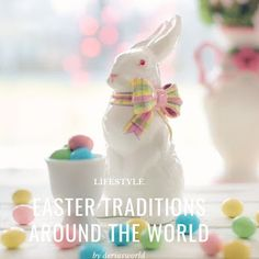 Easter Traditions Around The World - Easter Celebrations From 11 Countries Easter Traditions, Easter Celebration, Giving, Happy Easter, Around The Worlds, Blue And White, Traditional, Celebrities, Countries