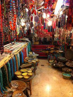 Tel Aviv-Jerusalem market---- heaven or maybe not?! it's like giving a kid candy!