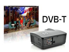 """Proyector LED HD """"HD Panther"""" - 2000:1, 3000 lúmenes ANSI, 1280x768, DVB-T"""