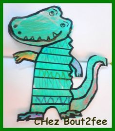 ah, les crocos, les crocos, les crocodiles . Amphibians, Reptiles, Serpents, Cycle 1, Crocodiles, Tour, Smurfs, Pirates, Writing