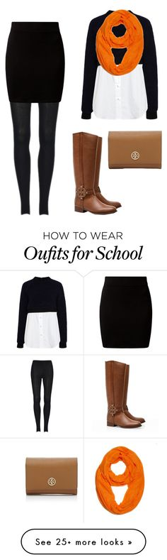 """""""high school football game"""" by preppy-4-life on Polyvore featuring Sea, New York and Tory Burch"""