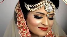 Pakistani bridal makeup & hairstyle tutorial in Urdu 2016. Youtube. Pakistani Bridal Makeup Hairstyles