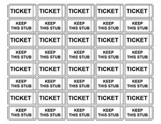 Free printable raffle tickets free printable raffle ticket printable admission tickets without numbers maxwellsz