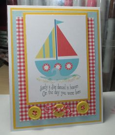 Sail Away On Your Birthday Greeting by LoveInBloomCreations