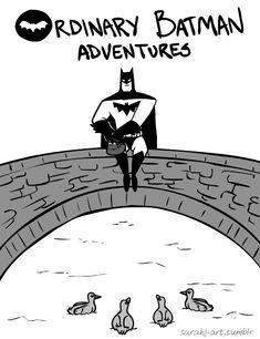 Hoje lhes apresento os impressionantes gifs de um lado do Batman que você desconhecia! Sabemos que você tem a imagem dele como um cara sério, obscuro e tal. Mas hoje te mostro 15 gifs simpáticos que mostram um lado mais divertido (mas não menos solitário) do nosso querido homem-morcego. A artista responsável pelas animações é…