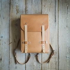Idun Handmade Leather Rucksack by nordicdistrict on Etsy, $520.00