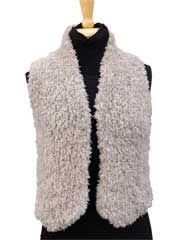 Fur Gilet - #807752 knit vest at Annie's Crafts