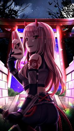 Reddit - Animewallpaper - Anbu Zero Two [Darling in the Franxx] (2500x4000)