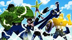 Avengers: Earth's Mightiest Heroes Artwork Shows a Deeper Dive into the Marvel Universe - What's A Geek Dc Comics Vs Marvel, Marvel Comic Universe, Comics Universe, Character Concept, Concept Art, Character Design, Vespa, Comic Book Artists, Comic Books