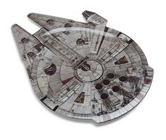 Millennium Falcon Serving Platter Will Make Star Wars Parties Perfect -  #party #scifi #starwars