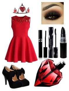 Queen Of Hearts by kianne-mlv on Polyvore featuring moda, Chicwish, Sisley Paris and Shiseido