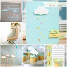 rain shower baby shower themes | BabyShowerIdeas1.InspiredByGiving
