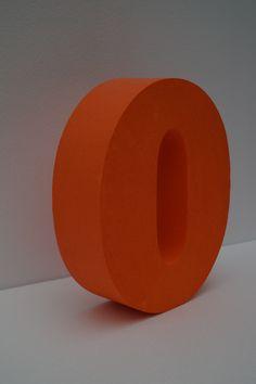 3D Buchstaben aus Styropor - Individuelles Design