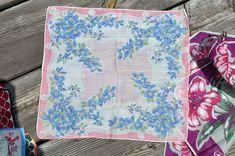 flowers, printed Vintage Handkerchief | Flickr - Photo Sharing!