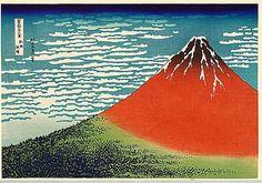 Bildresultat för Hokusai Mt. Fuji