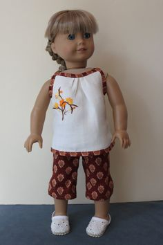 American Girl Doll Clothes  Sleeveless Top & by ForAllTimeDesigns, $28.00