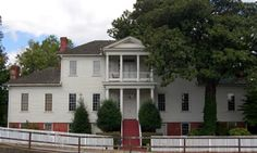 The Dancy-Polk House is Decatur's oldest historic home. The home is listed on the National Register and Alabama's Historic Register. This Palladian style home was built in 1829 by Colonel Frances Dancy.