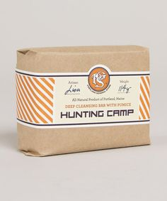 Hunting Camp Soap, by Portland General Store