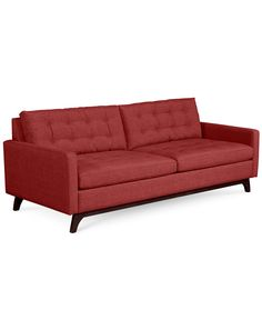 Karlie Fabric Sofa: Custom Colors - Couches & Sofas - Furniture - Macy's
