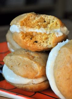 Whoopie Pies rock - and so does salted caramel.  Can't wait to make these!
